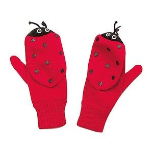 NWT! Kidorable Lady Bug Mittens